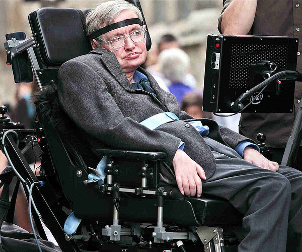 stephen hawking 30 Marvelous Pictures of Famous People