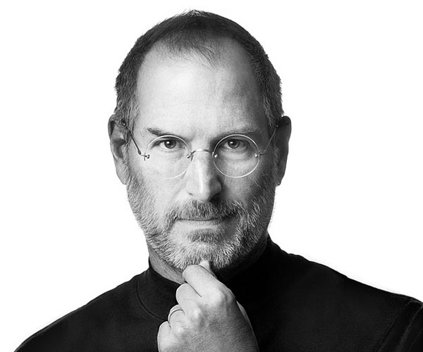 steve jobs 30 Marvelous Pictures of Famous People