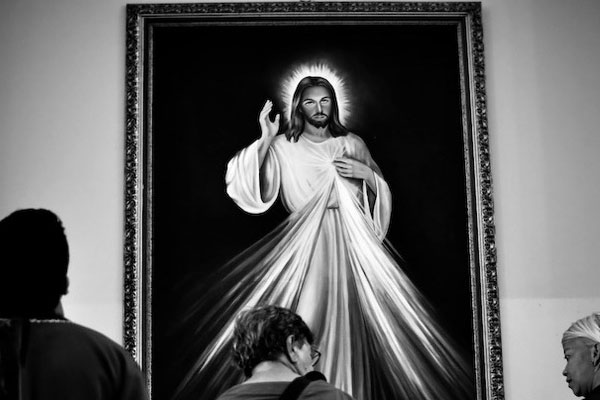 Jesus Black And White Picture