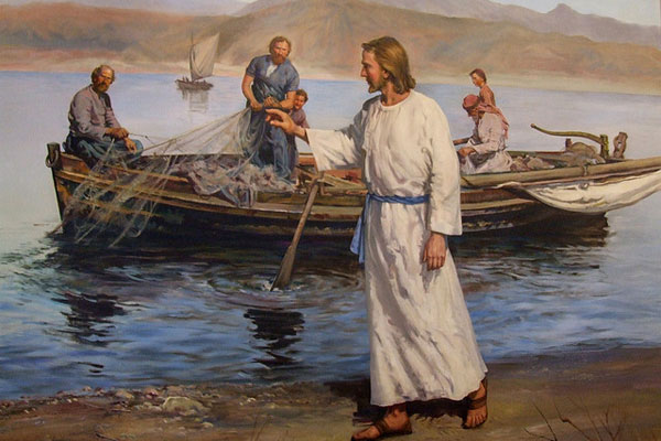 Jesus By The River