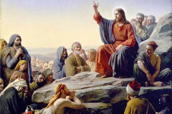 Picture Of Jesus Preaching