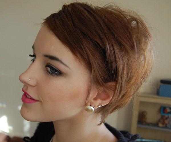 Fine Brown Hairstyle