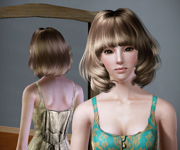 Sims 3 Short Hairstyle