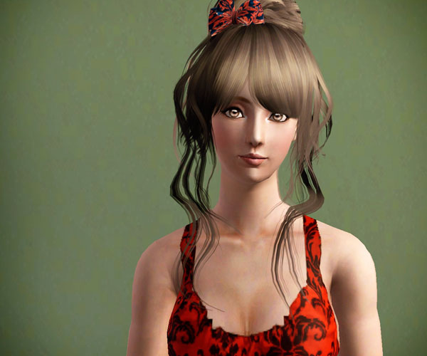 pretty head of hair 30 Stunning Sims 3 Hairstyles