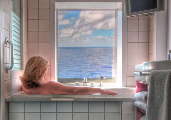 Sea View Bathroom