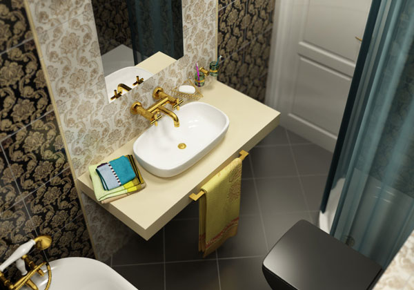 30 Mind-Blowing Small Bathroom Makeovers - SloDive
