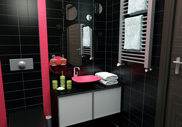 My Black Bathroom