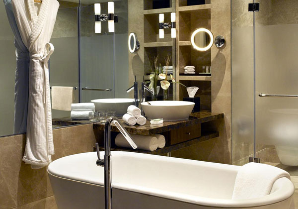 the westin 30 Mind Blowing Small Bathroom Makeovers