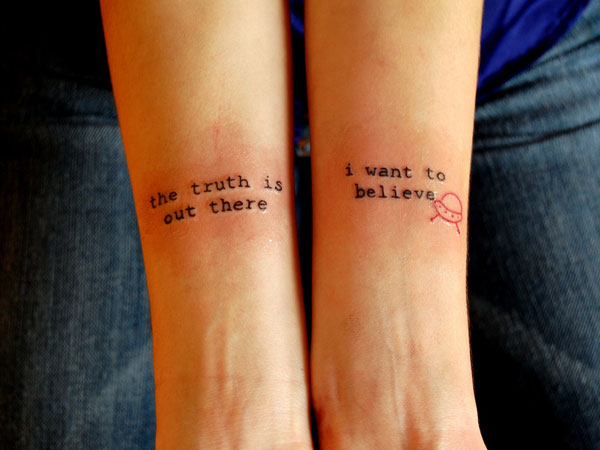 arm tattoo 40 Exciting Tattoo Quotes For Girls