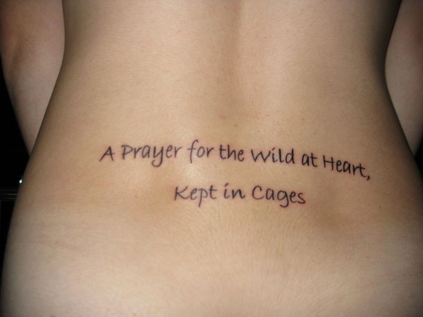 favorite quote 40 Exciting Tattoo Quotes For Girls