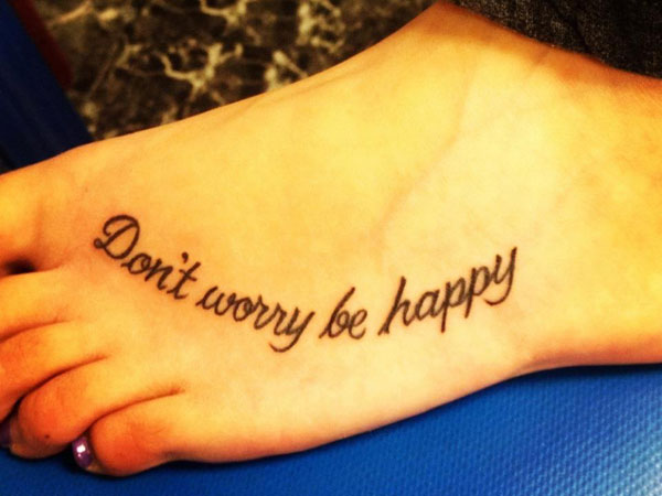 first tattoo 40 Exciting Tattoo Quotes For Girls