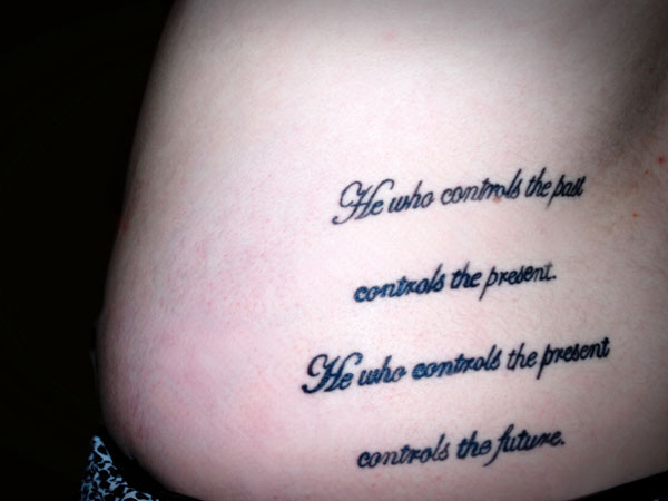 lower back tattoo 40 Exciting Tattoo Quotes For Girls