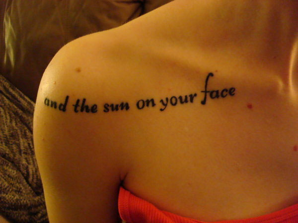new tattoo 40 Exciting Tattoo Quotes For Girls