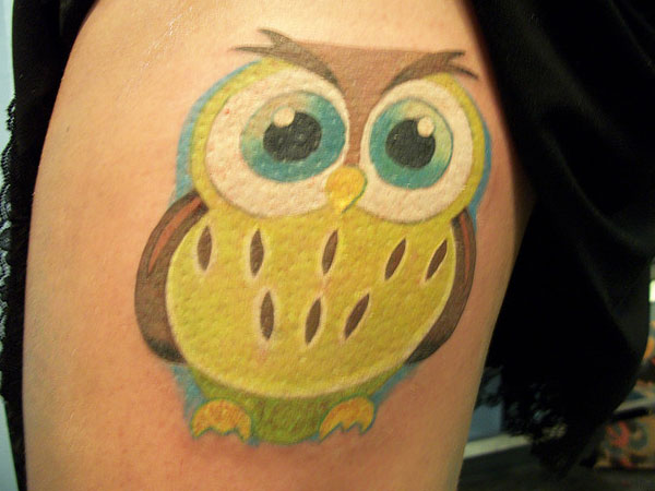 Lemondrop Owl