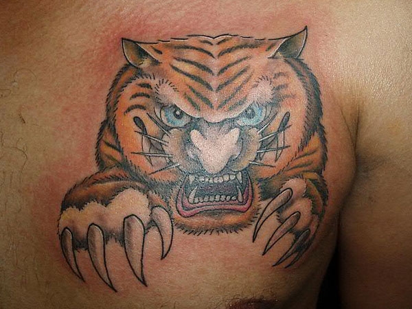 Foo Tiger Tattoo
