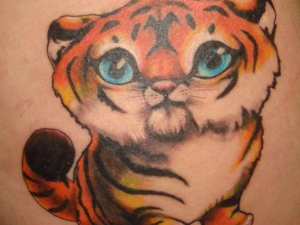 Tiger Cub Tattoo