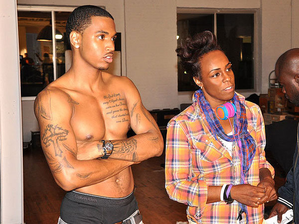 Yolande Gerald and Trey Songz