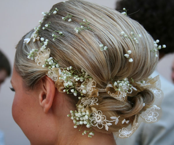 Decorative Updo Hairstyle
