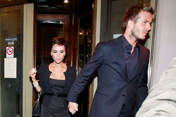 victoria and david beckham 35 Astounding Victoria Beckham Hairstyles