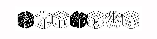 30 Impressive 3D Letters