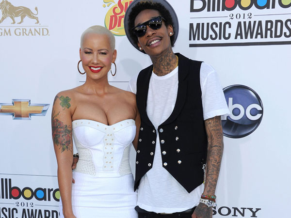 Amber And Wiz Khalifa