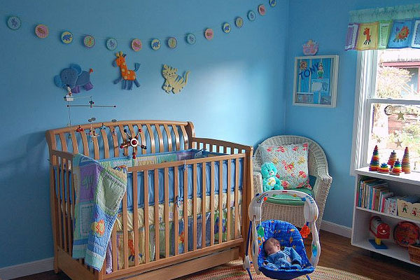 blue for my baby boy - Baby Boy Rooms