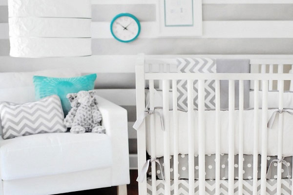Fresh Baby Room Design