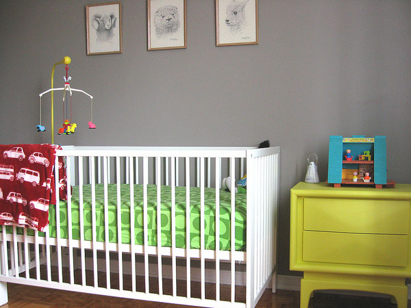 Cute cot to comfort kids