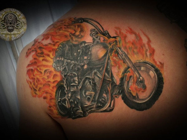 Ghost Rider Tattoo