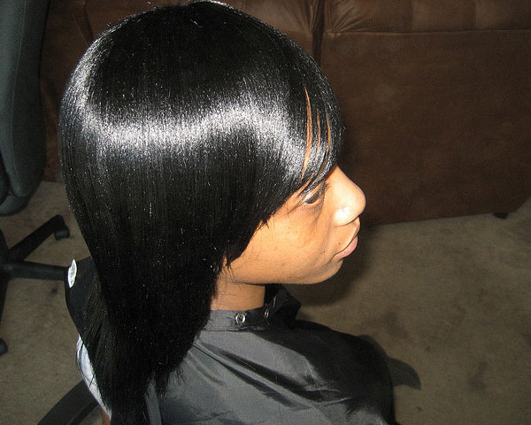 full head weave 30 Lovely Black Weave Hairstyles