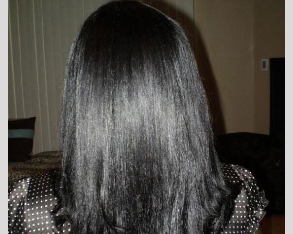 Weave Back View