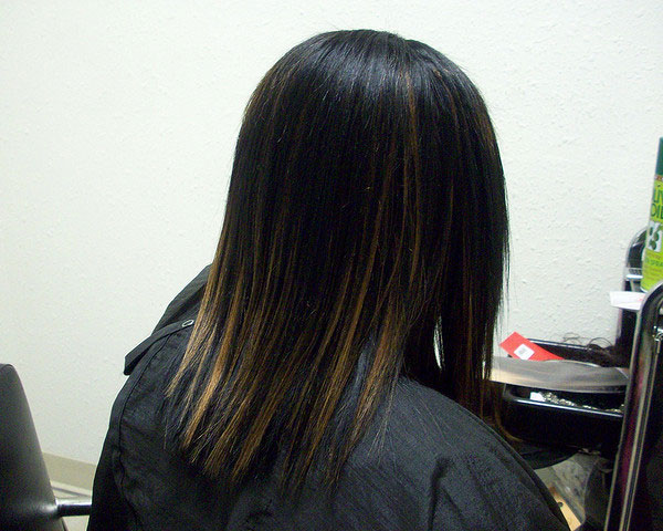 30 lovely black weave hairstyles slodive highlight weave pmusecretfo Gallery