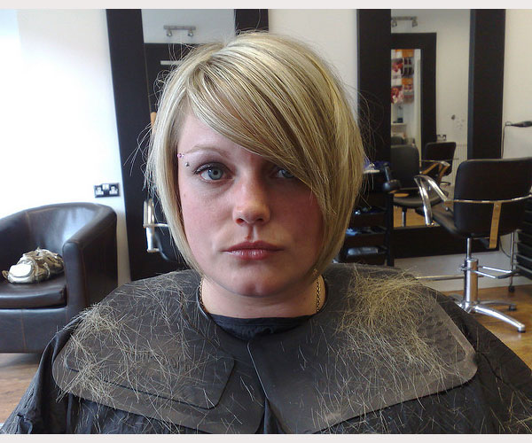 blonde bob 30 Drool Worthy Bob Hairstyles With Bangs