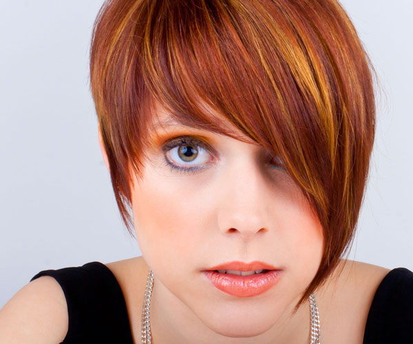 asymmetrical black hairstyles : Asymmetric Bob Hairstyle