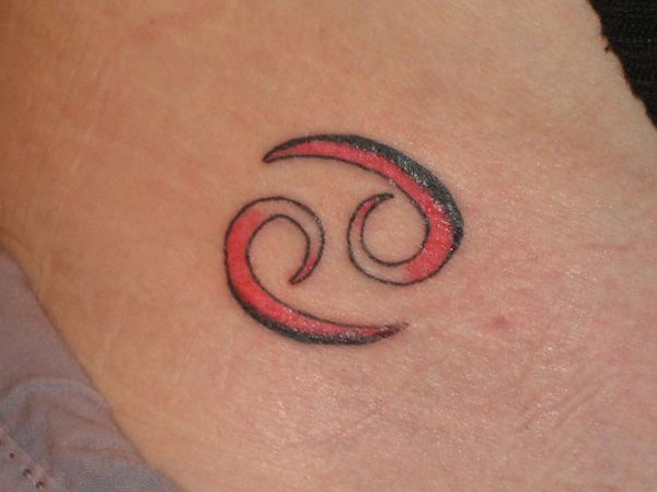 hip tattoo 35 Phenomenal Cancer Tattoos