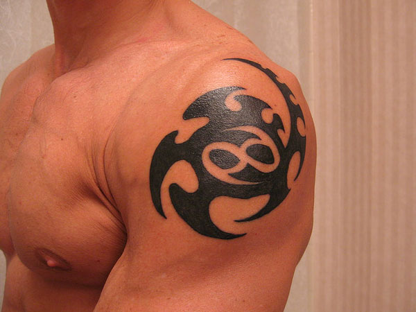 shoulder tattoo 35 Phenomenal Cancer Tattoos