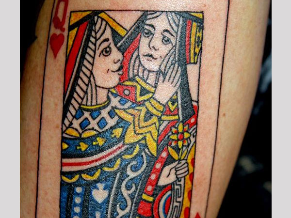 Two Queens Tattoo
