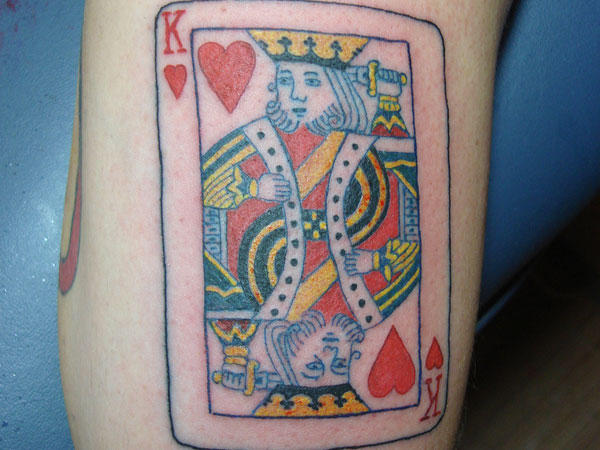 King Card Tattoo