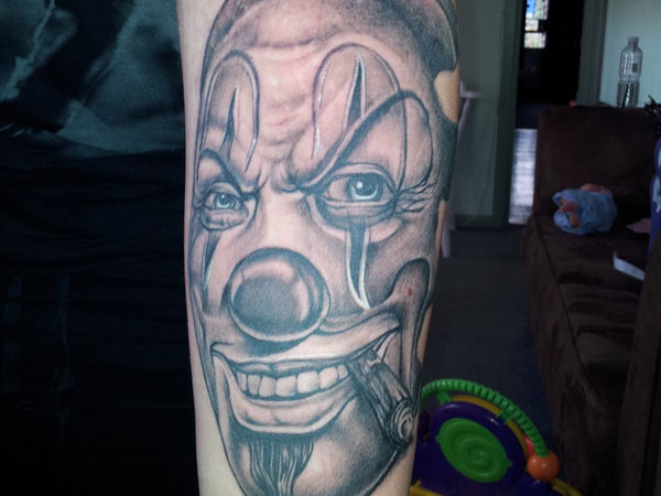 Chicano Clown Smile