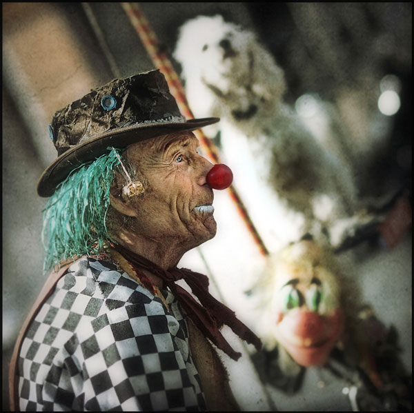 Old Time Clown