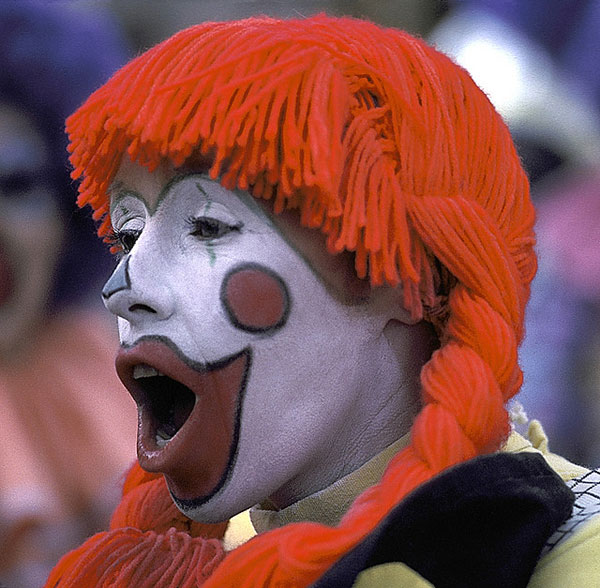 Football Clown
