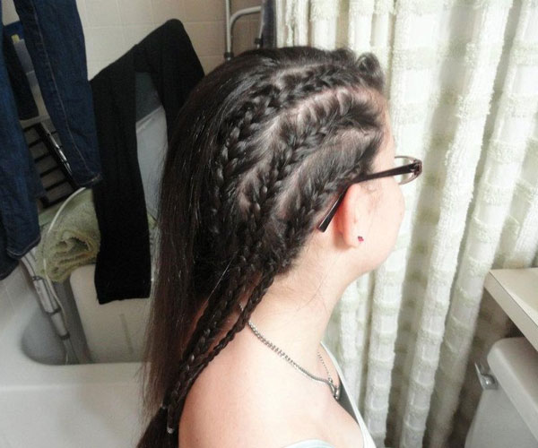 Completing The Cornrow
