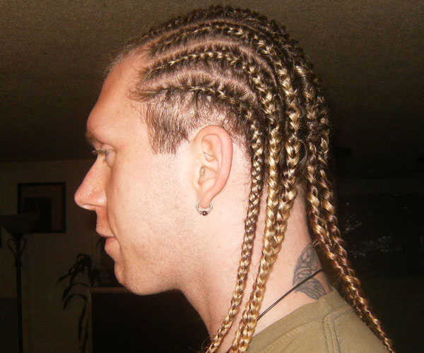 side view 30 Spectacular Cornrow Hairstyles