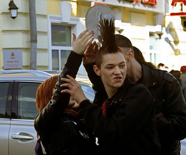 mohawk 40 Splendid Crazy Hairstyles