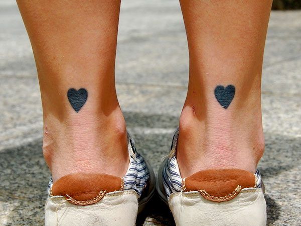 Tattooed teens first blowing