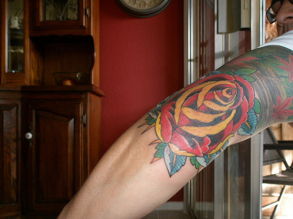 Gorgeous Elbow Tattoo