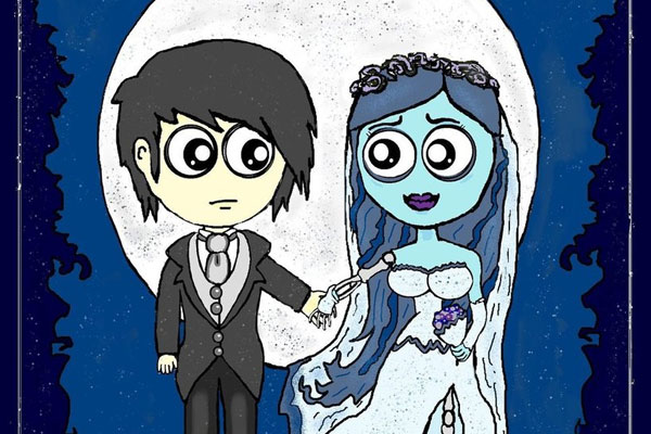 emo and the corpse bride 20 Wonderful Emo Cartoon Pictures