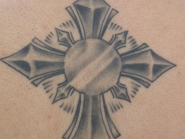 Cross on the Back