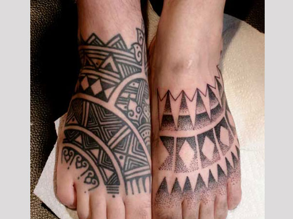 Tattooed Feet