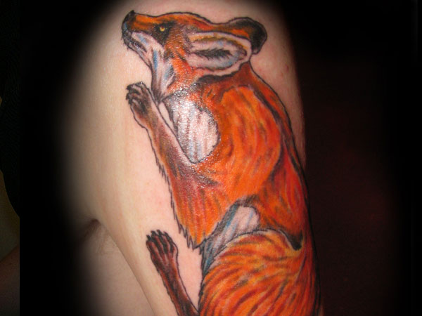 Fabulous Fox Tattoo